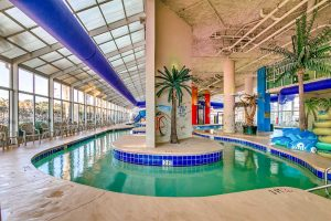 Dunes Village Resort in Myrtle Beach indoor lazy river