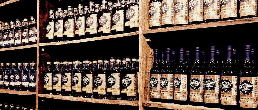Shelves of Moonshine