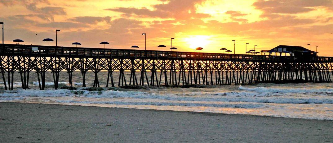 Garden City Pier Myrtle Beach Photos