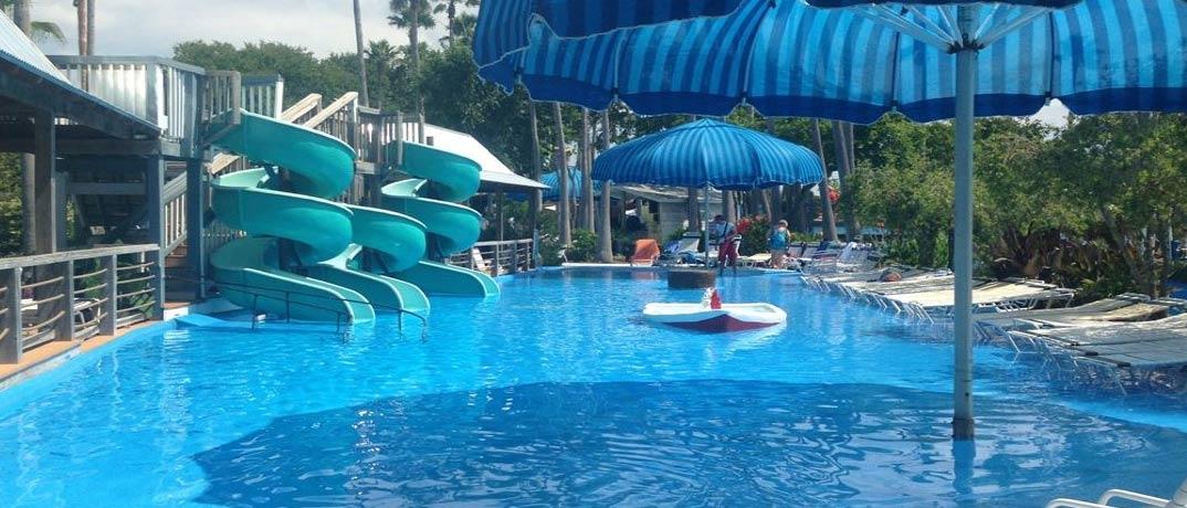 Big Kahunas Waterpark Rides