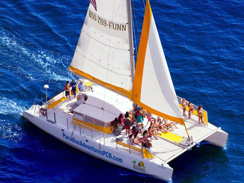 Catamaran Sailing and Snorkeling