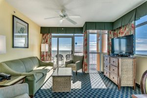 Dunes Village Resort in Myrtle Beach oceanfront 4 bedroom condo
