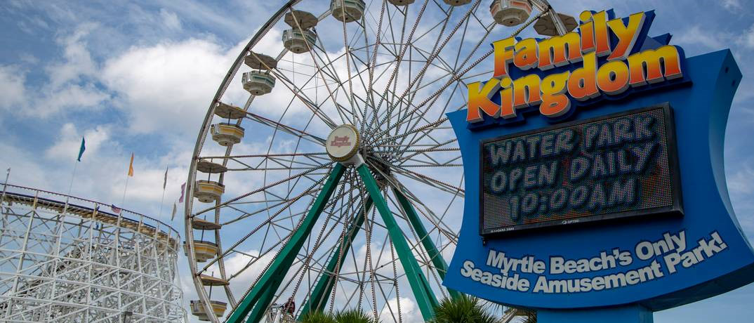 Family Kingdom Attraction In Myrtle Beach, South Carolina