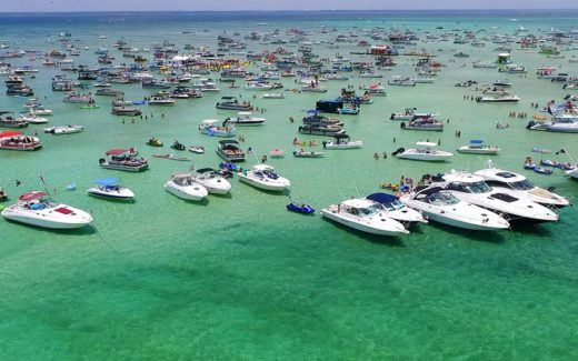 Crab Island in Destin FL