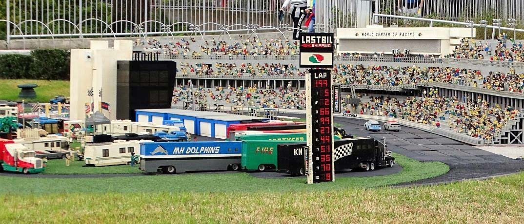 Daytona Speedway Miniland Orlando