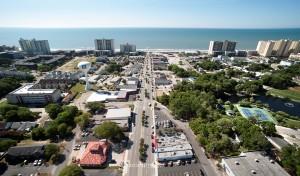 Main Street Aerial