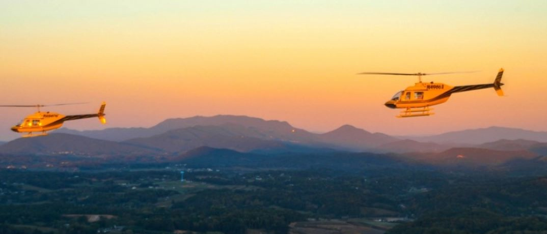 Helicopter Tours in Pigeon Forge