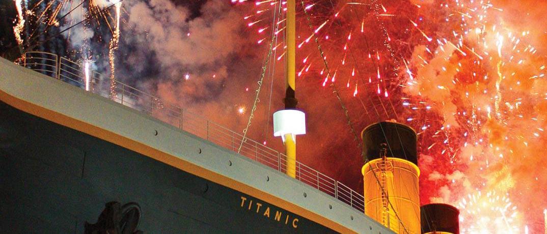 Titanic Thanksgiving Fireworks