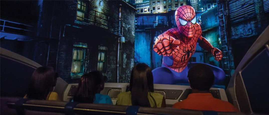 Attractions Marvel Super Hero Island