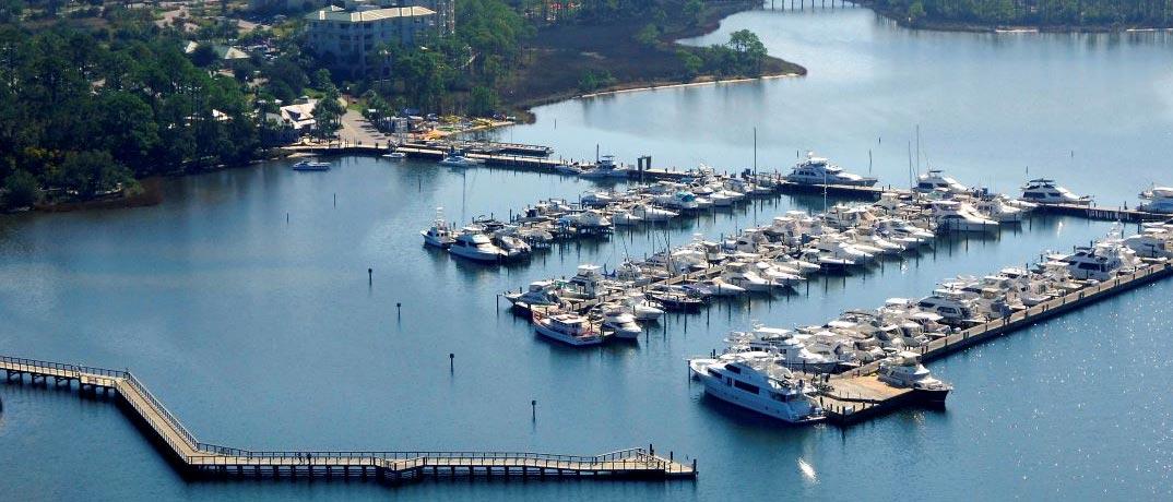 Destin, FL Baytowne Marina Information