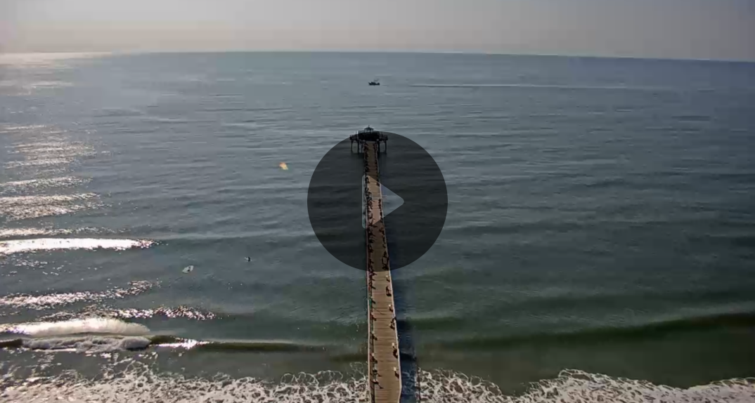 Cherry Grove Pier Webcam