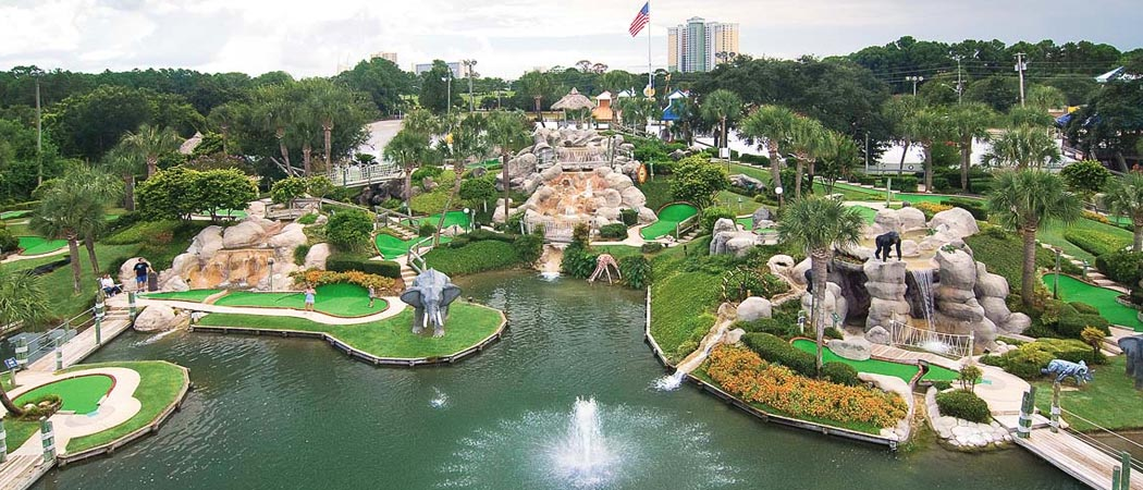 Coconut Creek Family Fun Park Mini-golf And Grain Maze