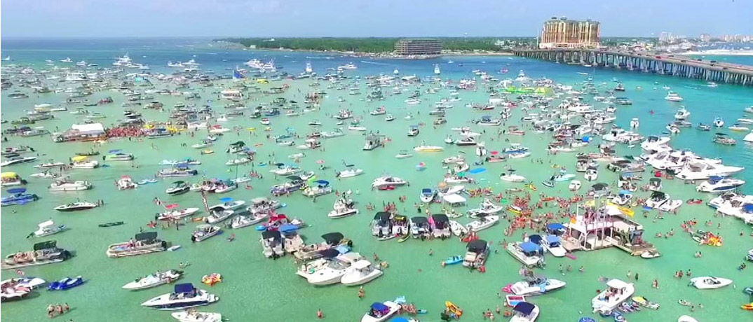 Emerald Coast Day at Crab Island