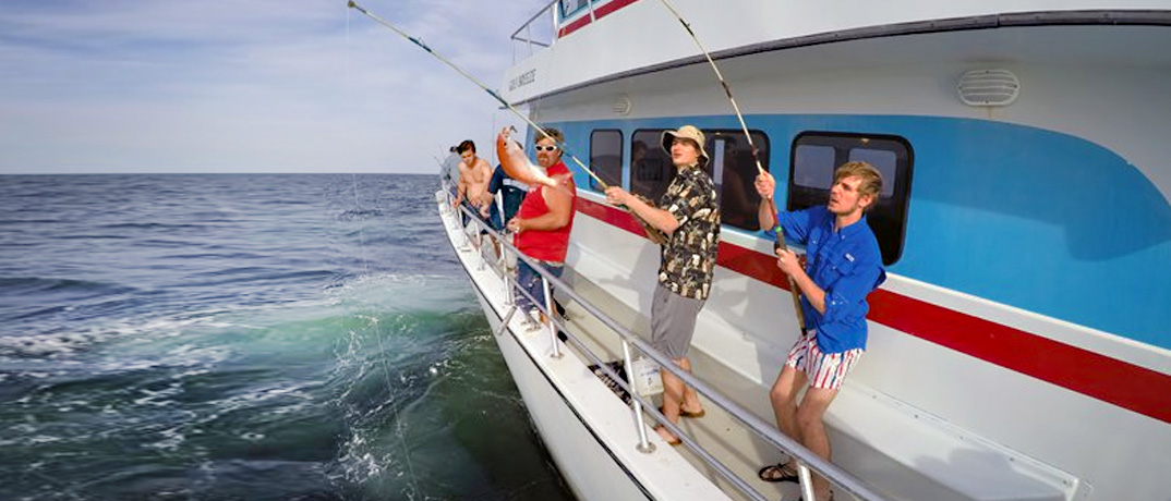 Deep Sea Fishing Party Boat