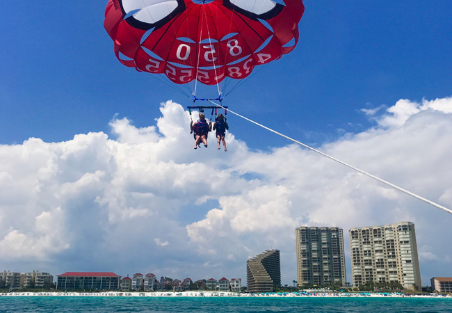 Parasailing in Destin, FL