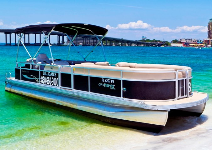 Pontoon boat rentals in Destin, FL