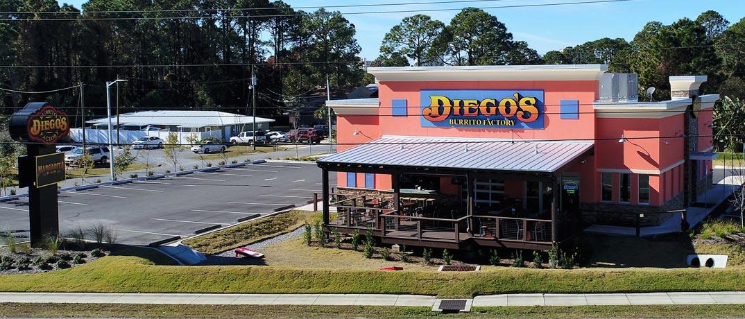 Diegos Burrito Factory