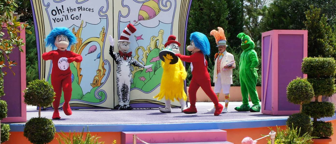 Suess Landing Shows