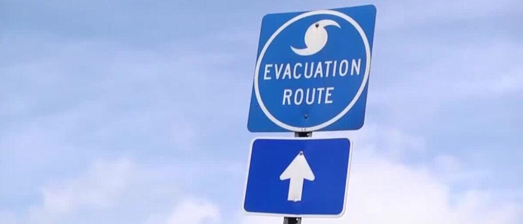 Myrtle Beach evacuation route