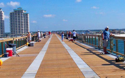 Destin Florida fishing pier