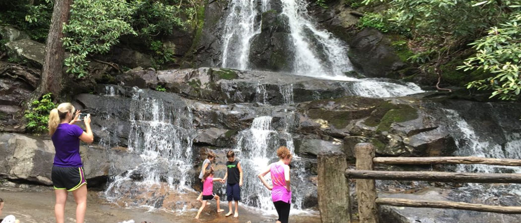 Laurel Falls In Gatlinburg