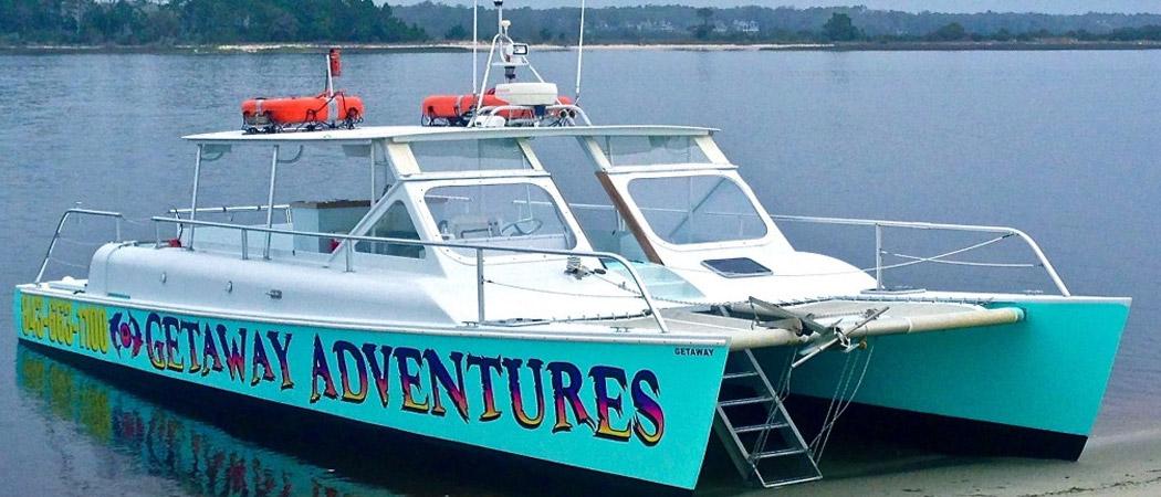 Getaway Adventures Dolphin Tour