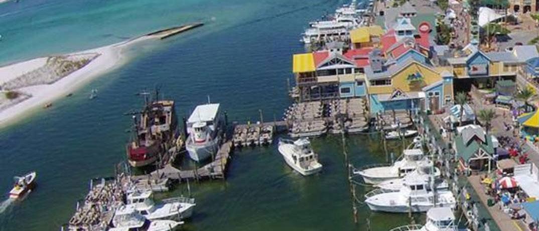 Harborwalk Marina in Destin, Florida