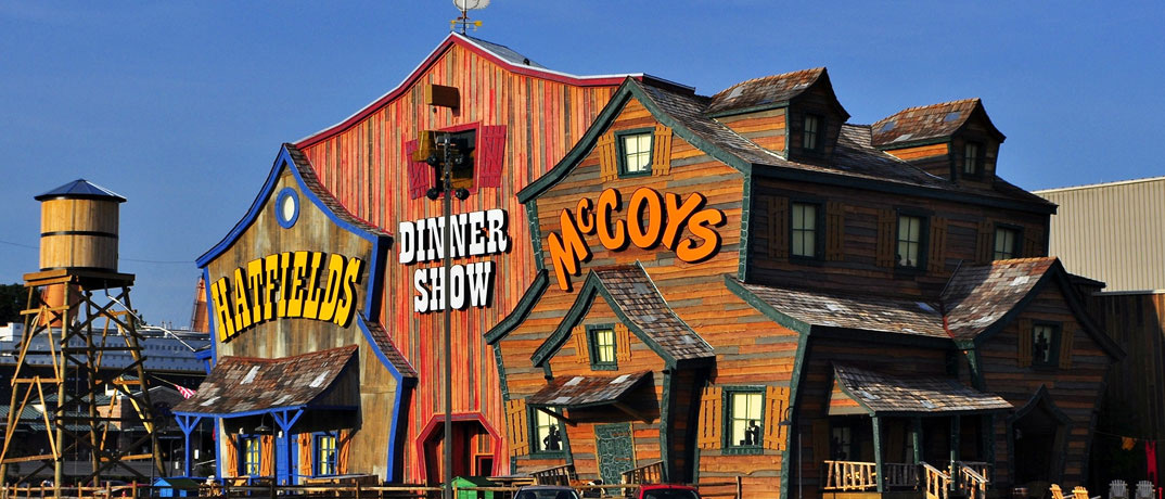 Hatfield and McCoys Pigeon Forge Dinner Feud