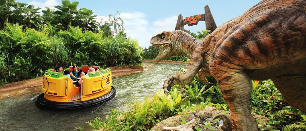 Jurassic Park Attractions