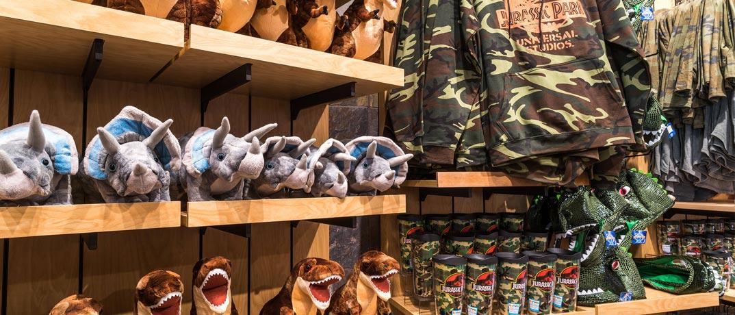 Jurassic Park Shopping