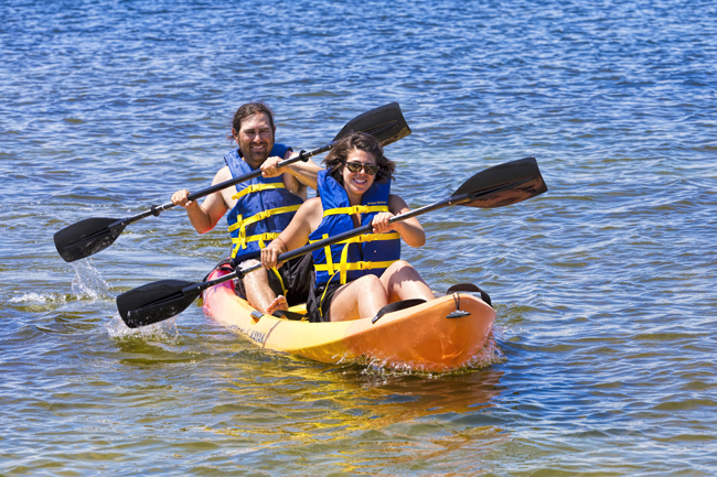 Kayak rentals in Destin, Florida