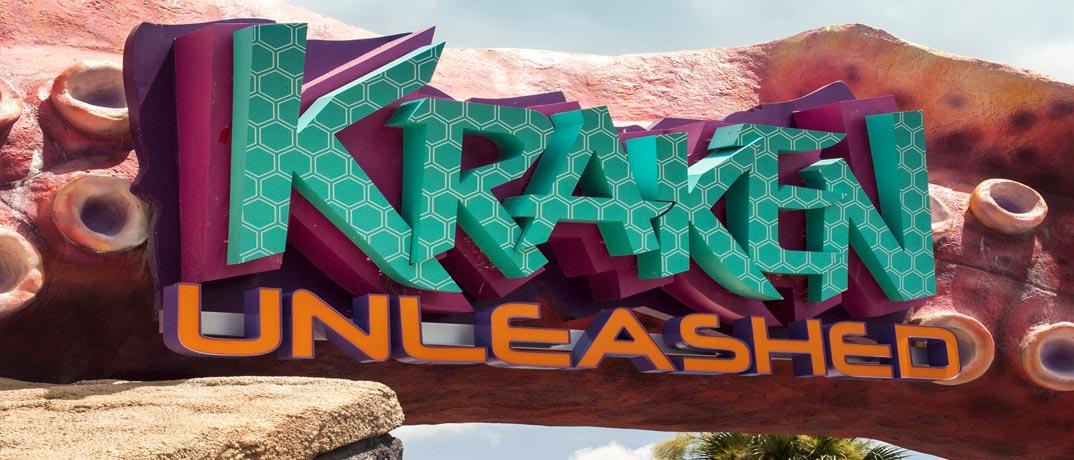 Kraken Unleashed Roller Coaster