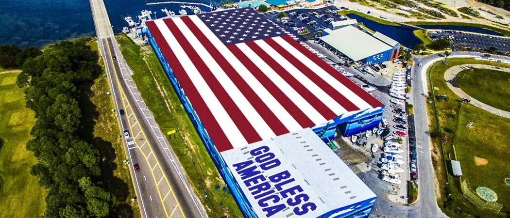 largest flag mural in the world