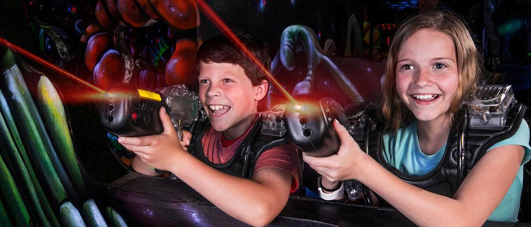 Laser Port Fun Center