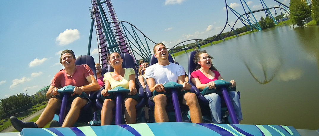 Mako Sea World Roller Coaster