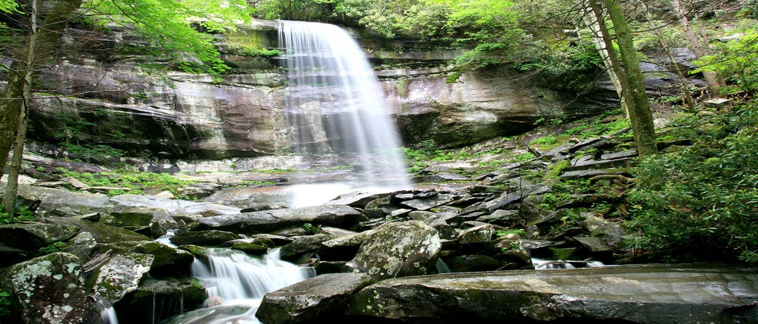 Rainbow Falls - Great Smoky Mountains National Park