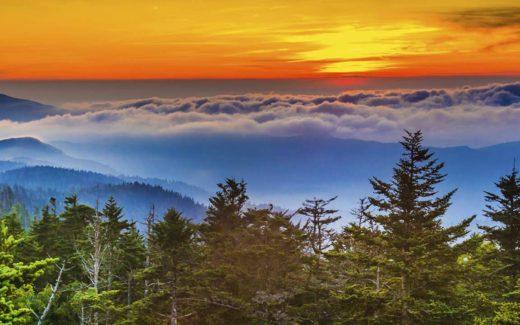 Watch the Mountain Sunset