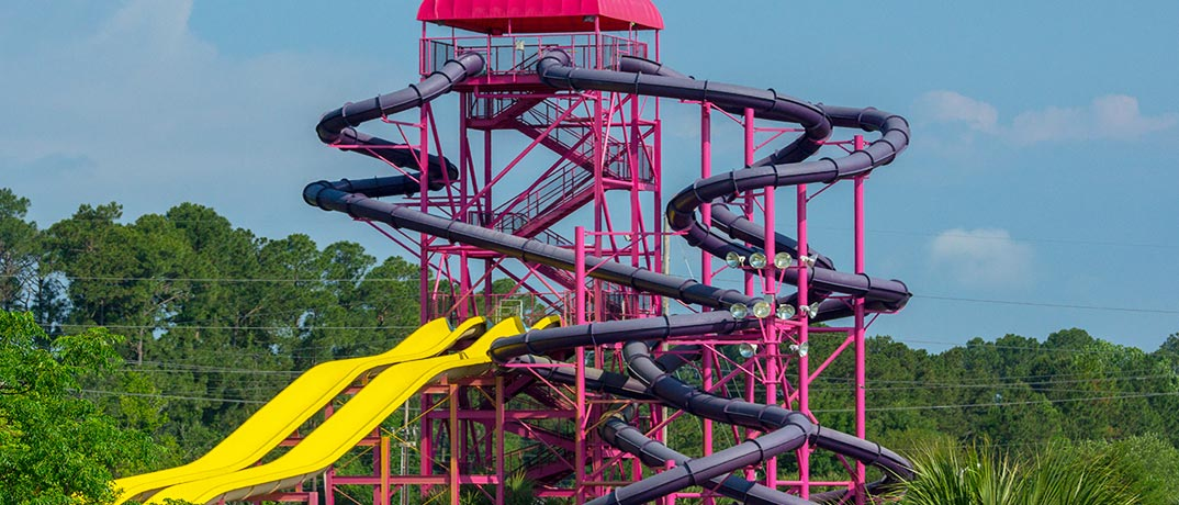 Myrtle Beach Water Tube Slides