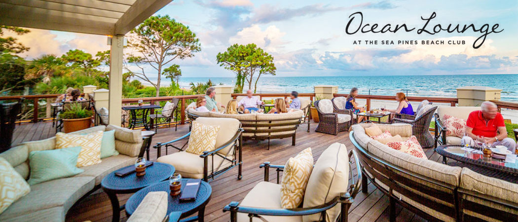 The Ocean Lounge at the Sea Pines Beach Club