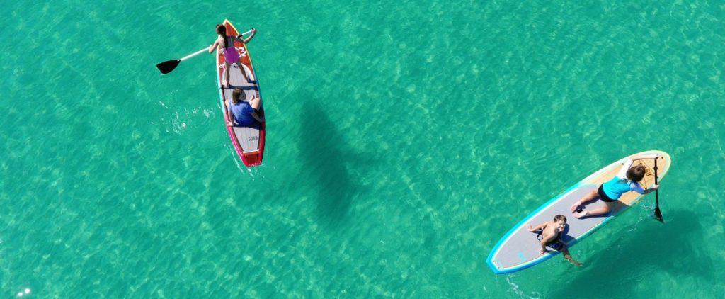 Paddleboard rentals in Panama City Beach, FL