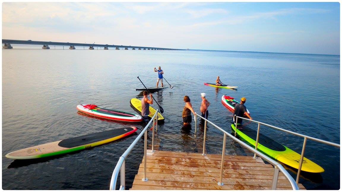 Stand up paddleboard rentals in Destin FL