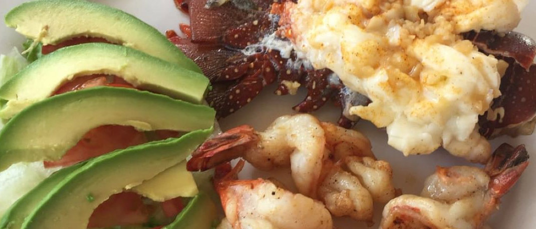 Classic mexican food at Mariscos La Palmita in Cabo San Lucas.