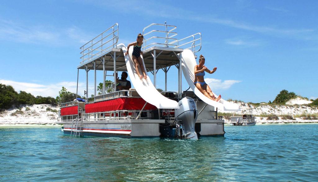 Rent a pontoon boat