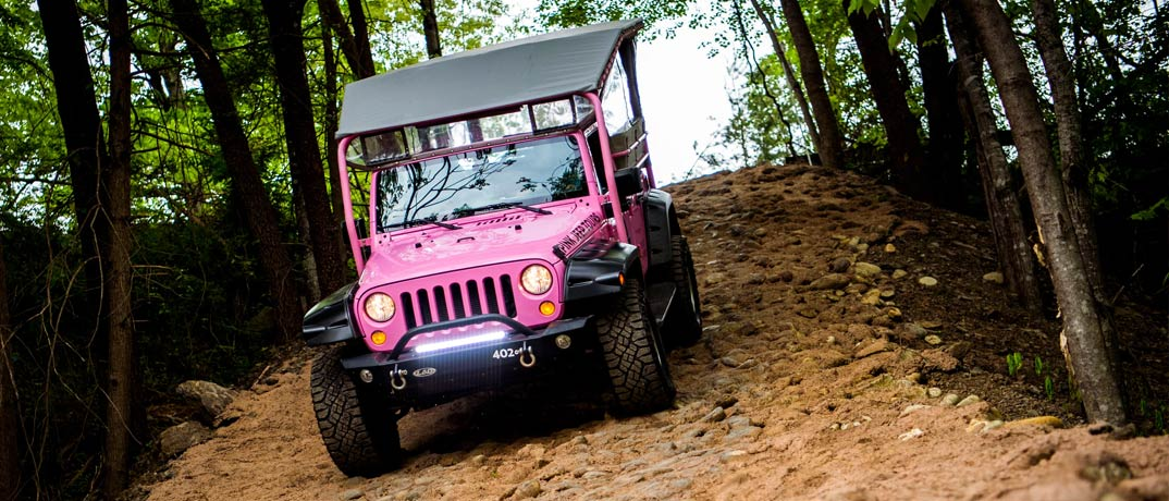 Pink Adventure Jeep Tours