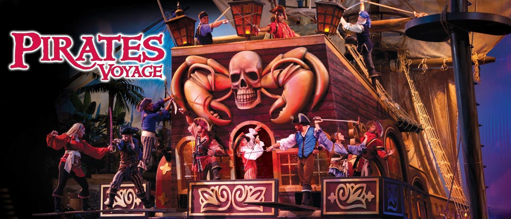 Pirates Voyage Christmas Show - Myrtle Beach, SC