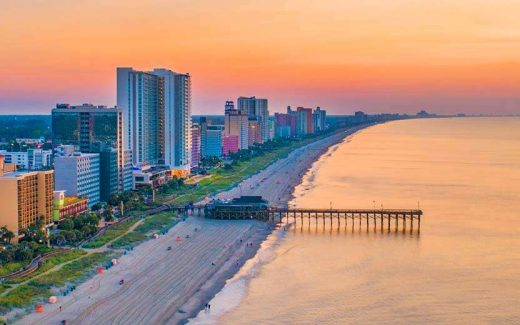 Places to See Sunsets in Myrtle Beach