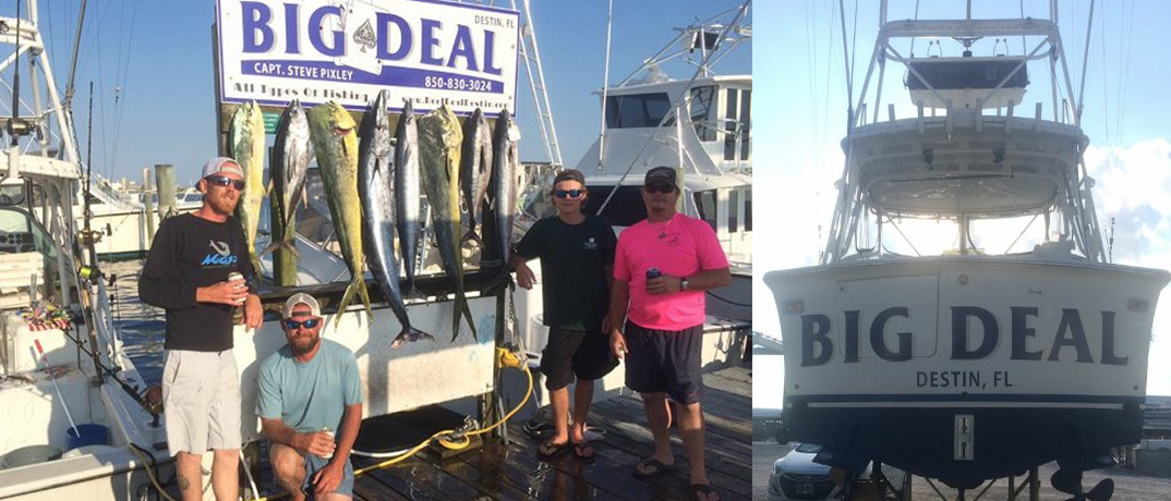 Deep Sea Fishing Trip Aboard the Big Deal