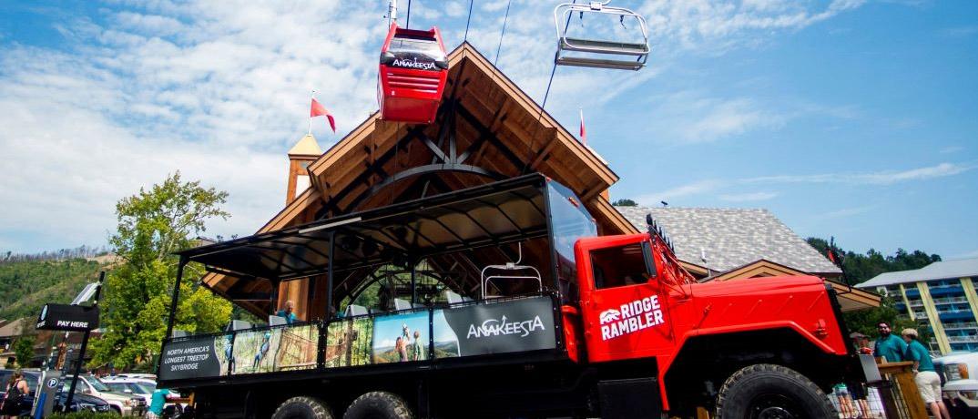 Chondola & Ridge Rambler Truck, Gatlinburg Attractions