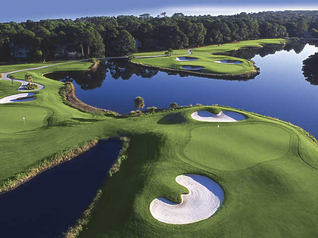 Robert Trent Jones golf course in Hilton Head