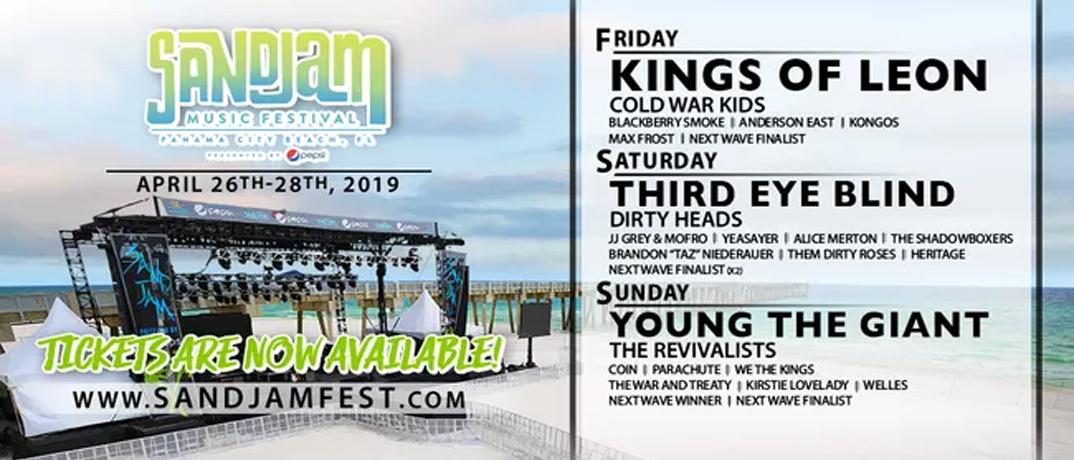 Music Festival Line Up
